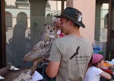 Sommerfest Eulen-Show Tierarztpraxis Neckarwestheim 33