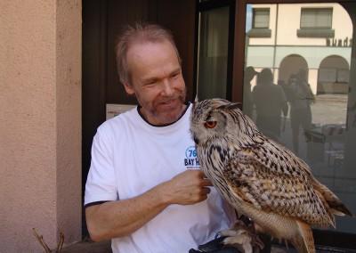 Eule Tiershow Tierarztpraxis Neckarwestheim 73