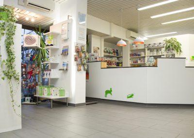 Anmeldung und Shop